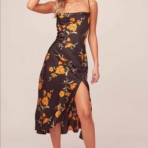ASTR The Label Gaia Floral Midi Dress, Size XS